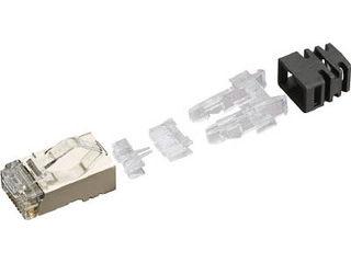 Panduit/パンドウイットコーポレーション シールド付きモジュラープラグ LANコネクタ カテゴリ6 100個入り SPS688-C SPS688-C