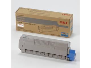 OKI/沖データ トナーカートリッジ(大) シアン (C612dnw) TC-C4DC2