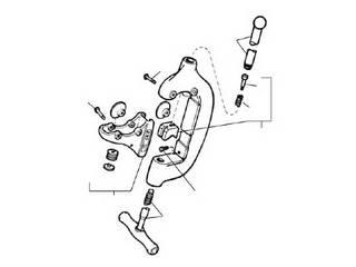 Ridge Tool/リッジツール RIDGID/リジッド C-508-X ハウジング F/44-S 33345