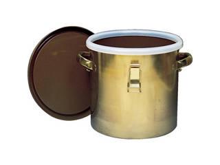 Flon/フロンケミカル フッ素樹脂コーティング密閉タンク(金具付) 膜厚約50μ 7L NR0378-001