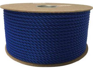 yutaka/ユタカメイク ポリエチレンロープドラム巻 9mm×150m ブルー PRE-52