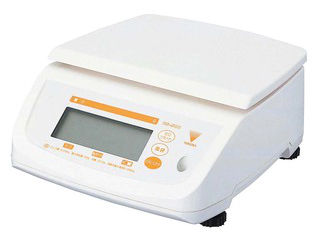 テラオカ テラオカ 防水型デジタルはかり テンポ DS-500 20kg