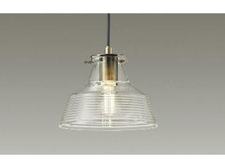 DAIKO/大光電機 DXL-81324 LEDペンダント ガラス透明模様入り ※ランプ付き