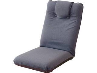 低反発座椅子(ヘッドレスト付)2個組 グレー SS-1GY-2