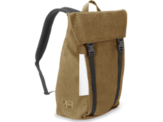 MH WAY/エムエイチウェイ BELL BACKPACK L WITH FLAP キャメル 20L MH-004CA