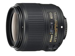 Nikon/ニコン AF-S NIKKOR 35mm f/1.8G ED 大口径広角レンズ