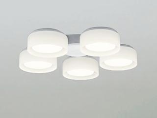 ODELIC/オーデリック WF065LD シーリングファン用シャンデリア 灯具 ~6畳【乳白ケシガラス・5灯】