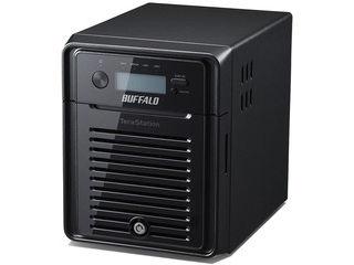 BUFFALO/バッファロー 【メーカー3年保証】Windows Storage Server 2016 WE搭載 4ベイNAS 16TB WS5400DN16W6