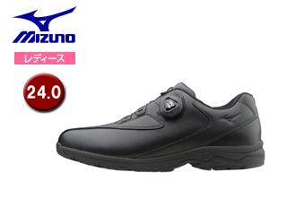 mizuno/ミズノ B1GD1526-09 LD40 Boa レディースウォーキングシューズ 【24.0】 (ブラック)