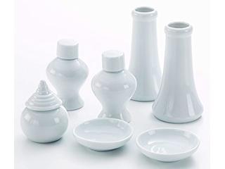 神具7点セット SHIZUOKA/静岡木工 021463 神具セット 陶器7点セット(小)