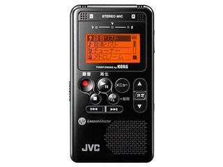 ※在庫限りの為、完売の際はご容赦下さい。 JVC 【当店在庫限り!】XA-LM10 B【ブラック】 ビクター音楽用レッスンレコーダー (XALM10)