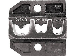 RENNSTEIG/レンシュタイクヴェルクツォイゲ 圧着ダイス 624-097 フェルール端子2X6、2X10、 624-097-3-0