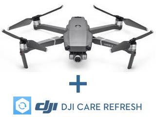 【納期にお時間がかかります】 DJI CP.MA.00000051.01 Mavic2 Zoom 機体(送信機および充電器を含まず)+DJI Care Refreshセット 【djicareset】