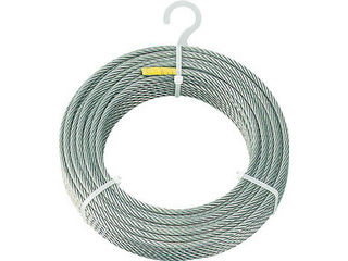 TRUSCO/トラスコ中山 ステンレスワイヤロープ Φ6.0mmX100m CWS-6S100