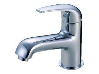 SANEI K4700NJVU-MIXシングルワンホール洗面混合栓ゴム栓なし