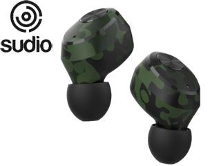 Sudio/スーディオ SD-0027 Camo(カモフラージュ) Sudio Niva 完全ワイヤレスイヤフォン