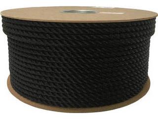 yutaka/ユタカメイク ポリエチレンロープドラム巻 9mm×150m ブラック PRE-54