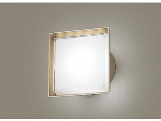 Panasonic/パナソニック LGWC81320LE1 LEDポーチライト プラチナメタリック【昼白色】【明るさセンサ付】【壁直付型】