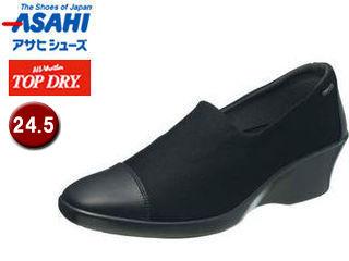 ASAHI/アサヒシューズ AF39381 TDY39-38 トップドライ パンプス レディース 防水 【24.5】 (ブラック)