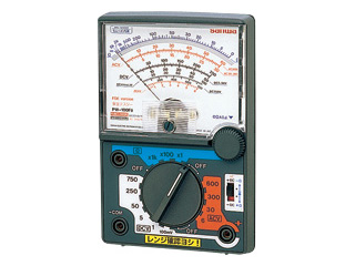 sanwa/三和電気計器 PW-100Fb アナログマルチテスタ/安全設計パワー測定用