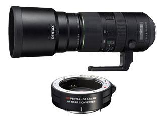 PENTAX/ペンタックス HD PENTAX-D FA 150-450mmF4.5-5.6ED DC AWとリアコンバーターセット【rconset】