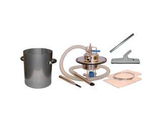 AQUA/アクアシステム エア式乾湿両用ステンレス製掃除機セット(オープンペール缶専用) AVC-550SUS-SET