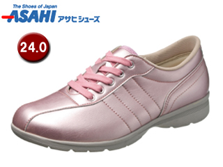ASAHI/アサヒシューズ KS23351-1 快歩主義 L120AC レディースカジュアルシューズ 【24.0cm・3E】 (ピンク)