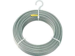 TRUSCO/トラスコ中山 【代引不可】ステンレスワイヤロープ Φ6.0mmX200m CWS-6S200