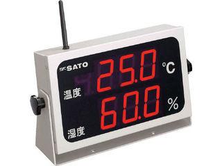 skSATO/佐藤計量器製作所 コードレス温湿度表示器(8102-00) SK-M350R-TRH