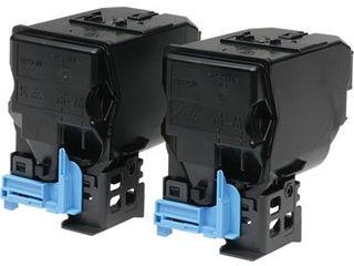 EPSON/エプソン LP-S950用 環境推進トナー/ブラック×2本パック (印刷可能ページ:約7300ページ×2) LPC4T11KPV