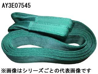 HOUSHOU/豊彰繊維工業 【代引不可】【ホウショウ】AYスリング JIS3等級ベルトスリング両端アイ型 75mm×4.5m (緑)