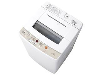 【標準配送設置無料!】 AQUA/アクア 【まごころ配送】AQW-S60G-W(ホワイト) 全自動洗濯機 【洗濯・脱水容量6.0kg】