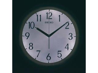 SEIKO/セイコークロック 文字板自動点灯電波掛時計/KX203B