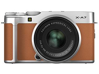 FUJIFILM/フジフイルム F X-A7LK-CA(キャメル) FUJIFILM X-A7 レンズキット ミラーレス一眼カメラ