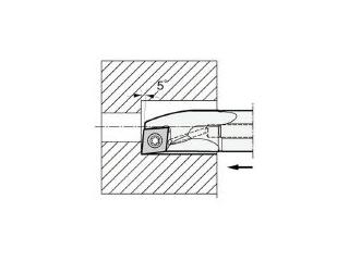 KYOCERA/京セラ 内径加工用ホルダ A12M-SCLPL08-14AE
