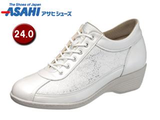 ASAHI/アサヒシューズ KS23294-1 快歩主義 L114AC レディースシューズ 【24.0cm・3E】 (ホワイト)