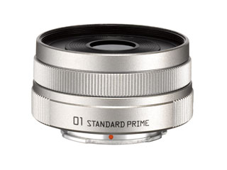 PENTAX/ペンタックス PENTAX-01 STANDARD PRIME(シルバー) 標準単焦点レンズ