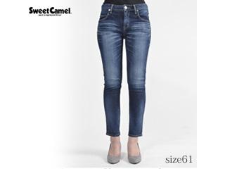 Sweet Camel/スウィートキャメル ナローストレートデニム【R4濃色USED】サイズ61■本格ビンテージ加工■(SC5322)