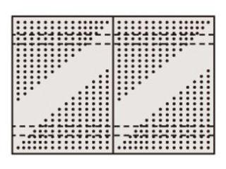 SAKAE/サカエ 【代引不可】ステンレスパンチングウォールシステム PO-602LSU