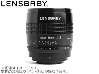 KENKO/ケンコー Velvet 56(ブラック) ニコンZマウント用 LENSBABY/レンズベビー