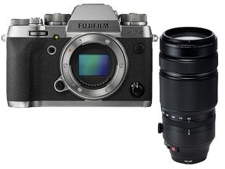 FUJIFILM/フジフイルム X-T2 GS ボディ(グラファイトシルバー)+XF100-400mmF4.5-5.6 R LM OIS WRレンズセット 【xt2set】