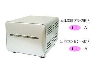 カシムラ NTI-149 海外国内用大型変圧器 【110-130V/1500VA】