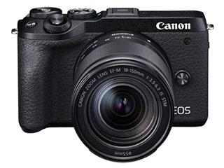 CANON/キヤノン EOS M6 Mark II ・EF-M18-150 IS STM レンズキット (ブラック) 3611C044