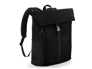 MH WAY/エムエイチウェイ BELL BACKPACK M WITH FLAP ブラック 16L MH-005BK