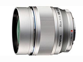 OLYMPUS/オリンパス M.ZUIKO DIGITAL ED 75mm F1.8(シルバー) 単焦点レンズ