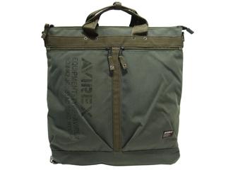 AVIREX/アヴィレックス AVX3517 メンズ ヘルメットバッグ/トートバッグ (カーキ)