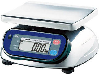 A&D/エー・アンド・ディ 防塵防水デジタルはかり(検定付・1区) SK2000IWP-A1