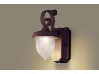 Panasonic/パナソニック LGWC80235LE1 LEDポーチライト ダークブラウンメタリック 【電球色】【明るさセンサ付】【壁直付型】