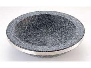 長水石焼煮込み鍋手無補強リング付/YS-0332C 32cm