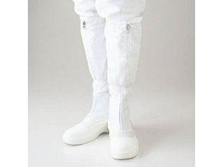 GOLDWIN/ゴールドウイン 静電安全靴ファスナー付ロングブーツ ホワイト 28.0cm PA9850-W-28.0